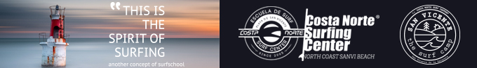 Escuela de surf costa norte