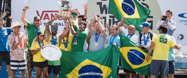 Triunfo de Brasil en los ISA World Surfing Games 2019